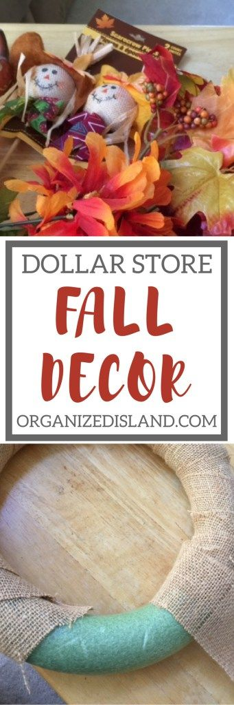 Looking for some cheap fall decor ideas? This site has tons of ideas!