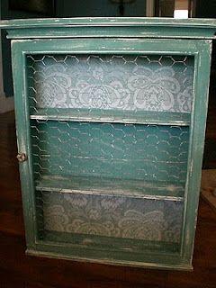 I love distressed furniture!