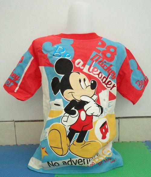 T-Shirt Mickey Be a Leader (Mickey Kids, size no 6) Berat 239 gr, Price Rp 90.000,-  Ukuran T-Shirt: Panjang (atas – bawah) 44 cm Lebar (kiri – kanan) 35 cm Panjang lengan 15 cm  Ukuran Celana: Panjang (atas – bawah) 38 cm Diameter lingkar lubang kaki 20 cm  Email: jjbigstore@yahoo.com Path: Silvblue Shop Instagram: @silvblue We Chat, Kakao, Line: silvblue SMS: 0818 0832 9022 WhatsApp 0896-2860-9094 FB: http://www.facebook.com/silvblue Blog: http://www.jjbigstore.wordpress.com/
