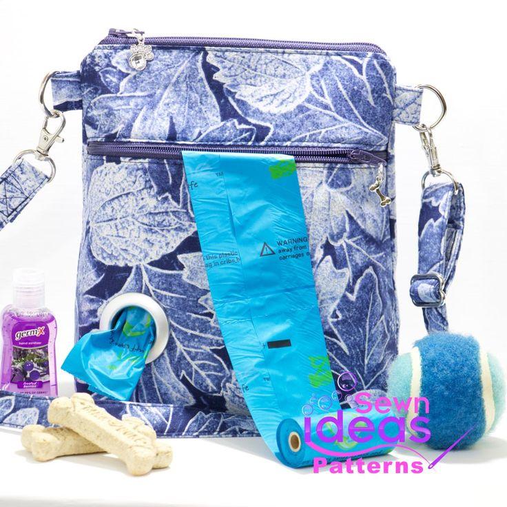 Dog Walking Bag PDF sewing pattern - DIY Dog bag   | Craftsy