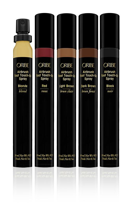 Oribe Airbrush Root Touch-up Spray to revive roots and highlights between appointments