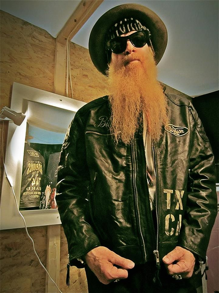 Billy F Gibbons And His One Off Warson Motors Leather