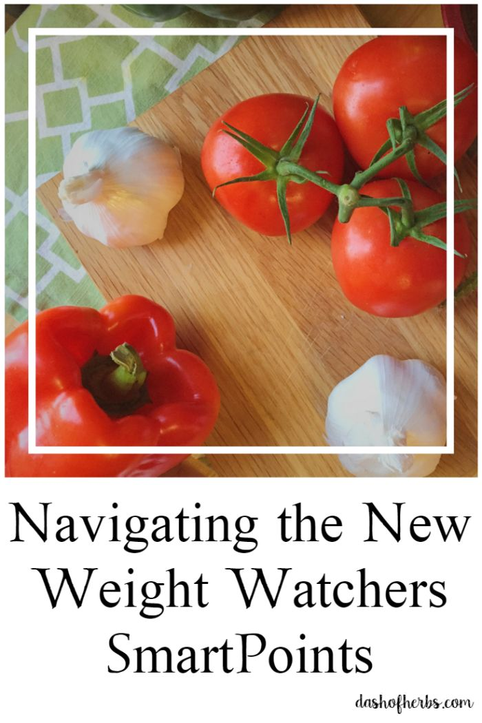 Navigating the New Weight Watchers SmartPoints - Dash of Herbs