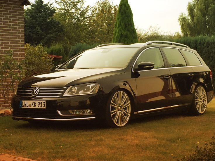 Passat B7 on 19' inch Rims with Passat B7