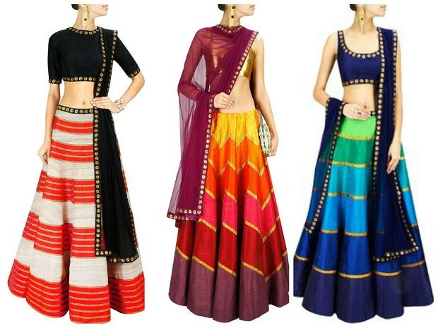 Indian bridesmaid dresses-colour coordinated bridesmaid dresses for Indian weddings