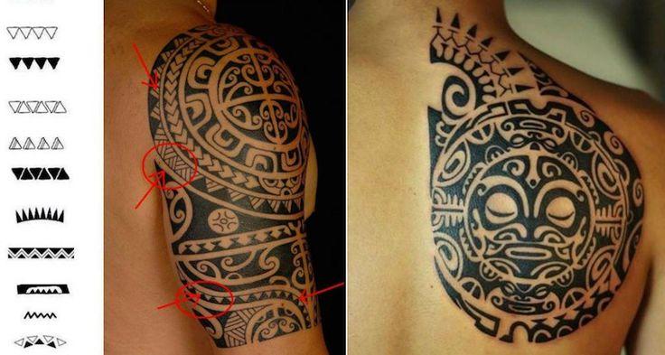 signification-tatouage-maori-dents-requin-tiki