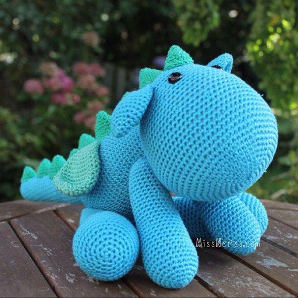 Free Crochet Stuffed Dragon Pattern : 17 Best images about AMIGURUMI DINOS on Pinterest ...