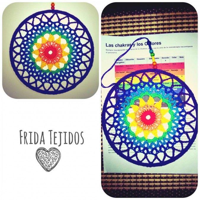 Mandala chakras * Frida tejidos * Feria Central