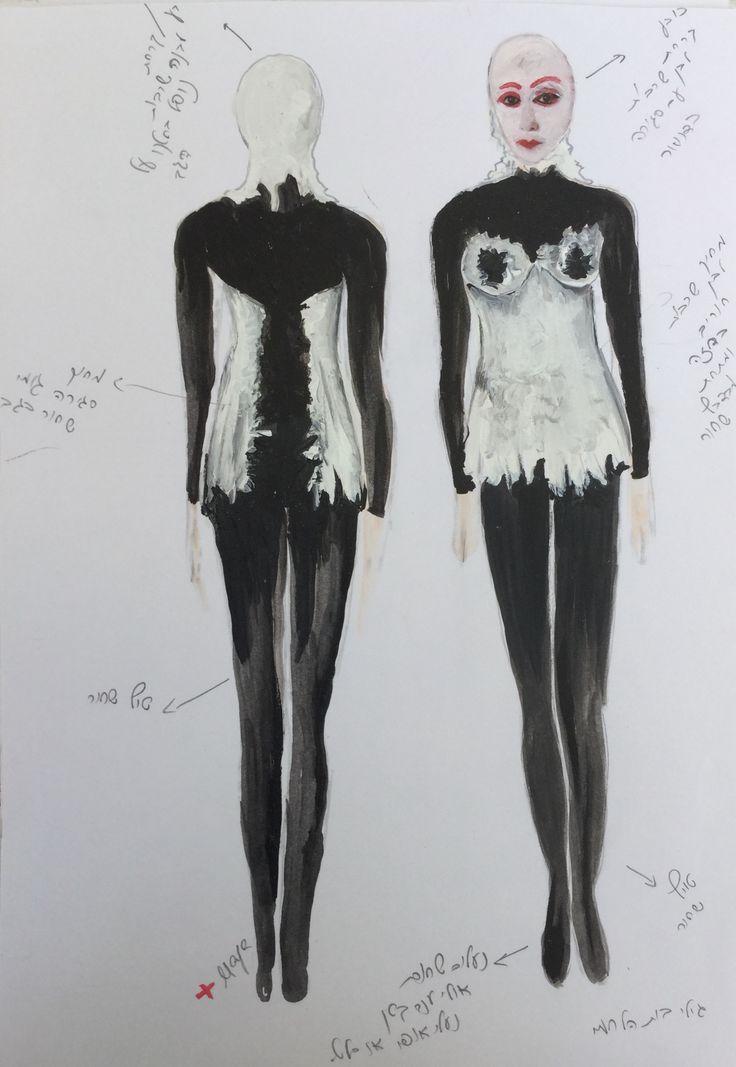 In Flagrante Delicto -Performance art  Costume design -Maya Meidar Moran