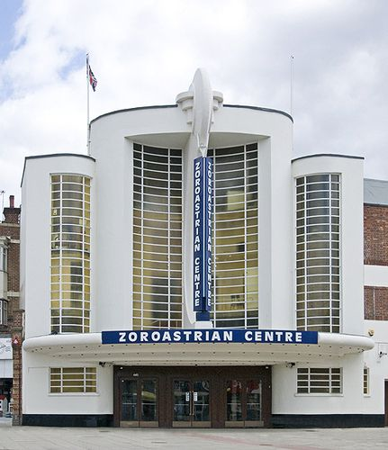 Frederick E. Bromige: Grosvenor Rayners Lane Cinema, 1936.