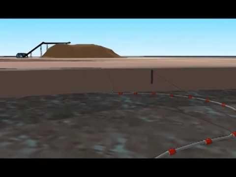 Миниземснаряд на базе винтового насоса BV
