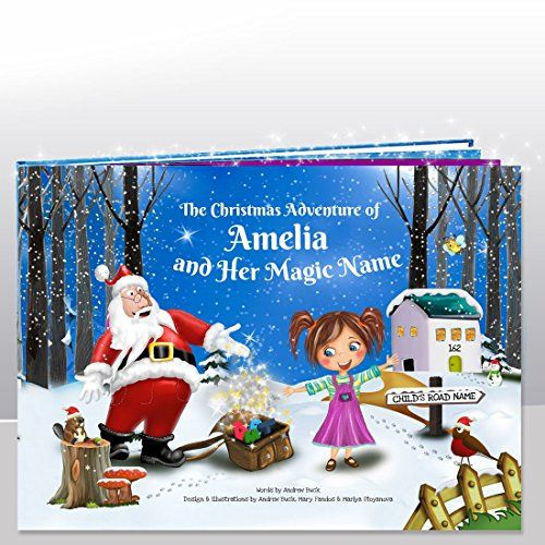 My Magic Name Personalised Childrens Books Personalised Kids Christmas Story Book - Totally Unique - Great Xmas Gift for Children No description http://www.comparestoreprices.co.uk/december-2016-3/my-magic-name-personalised-childrens-books-personalised-kids-christmas-story-book--totally-unique--great-xmas-gift-for-children.asp