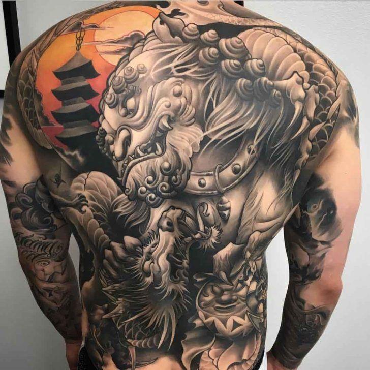 asian back tattoo japanische tattoos kunst designs und japanische. Black Bedroom Furniture Sets. Home Design Ideas