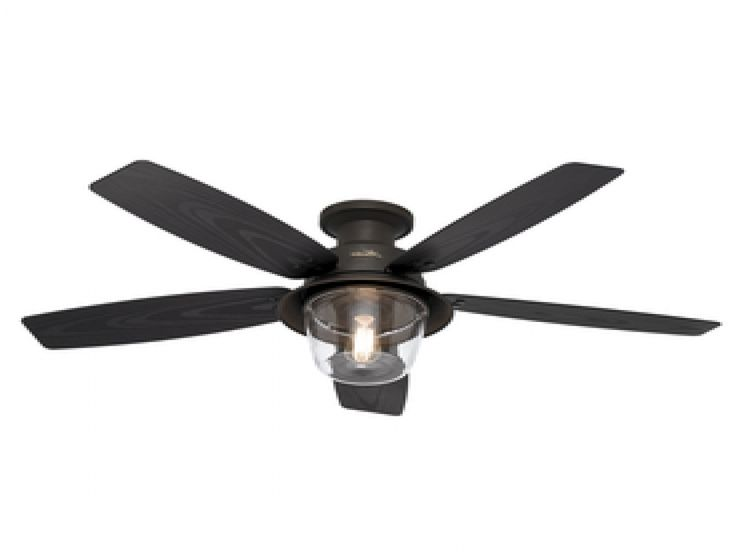 Hunter Outdoor Ceiling Fan, Tropical Ceiling Fans Unique Ceiling  intended for Outdoor Ceiling Fans With Light