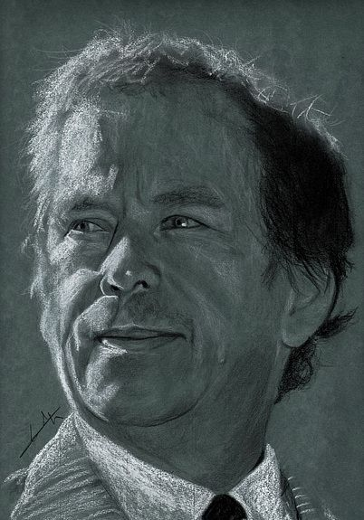 Vaclav Havel by Philippe Flohic