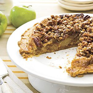 Apple Upside-Down Pie | MyRecipes.com