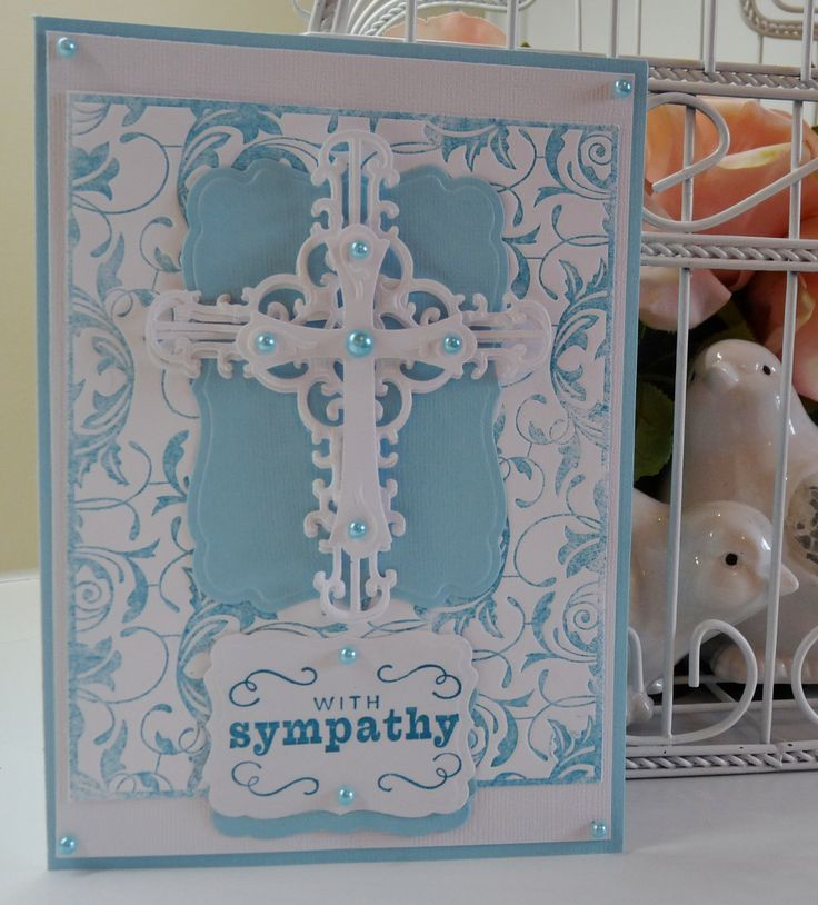 Sympathy Card Ideas To Make Part - 34: Just A Simple Sympathy Card The Ones We Don T Want To Have To Make