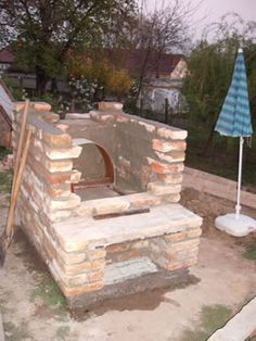 Bauanleitung Bau Brotbackofen mit Holzfeuerung   – Claudia Richter