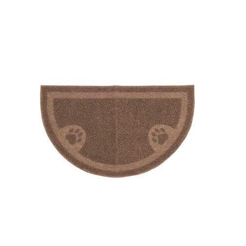 """Arm & Hammer 22150 Half Circle Litter Mat, 23"""" x 14"""""""