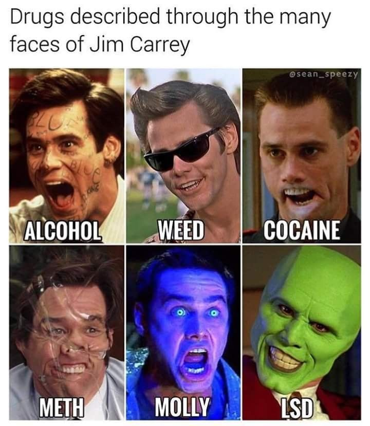 faces of drugs