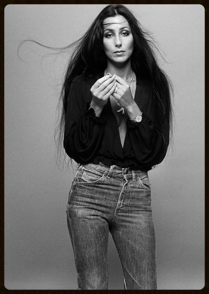 Cher in Levi 501s 1975