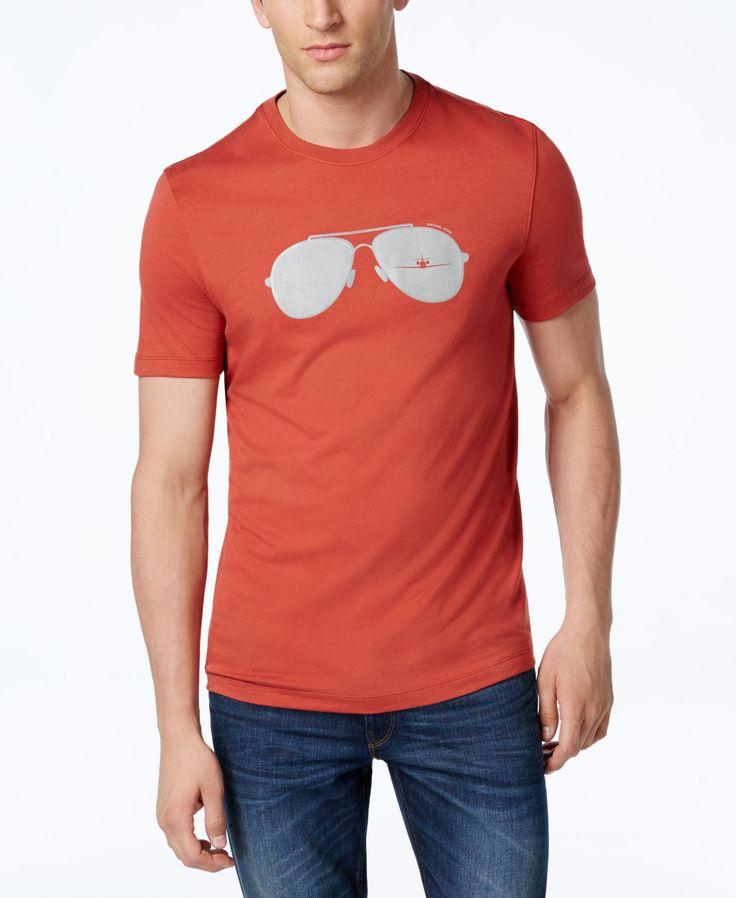 Michael Kors Men's Aviator Stripe T-Shirt