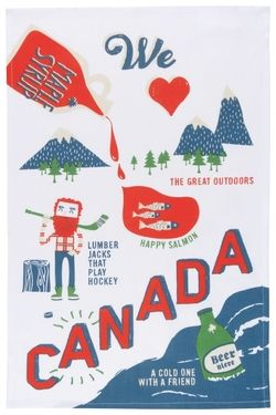 Now Designs Dishtowel O Canada $10.29 - from Well.ca