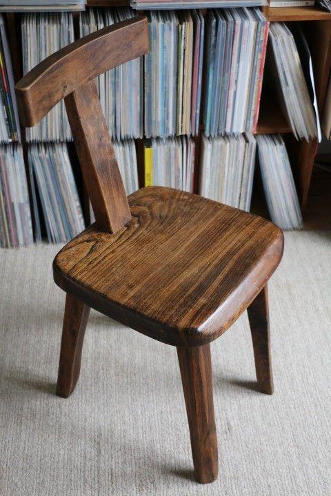 Chaise « T » par Olavi HÄNNINEN années 50 édition Mikko Nupponen d'occasion vintage, design, scandinave, industriel, ancien vendu sur Collector Chic dépôt-vente