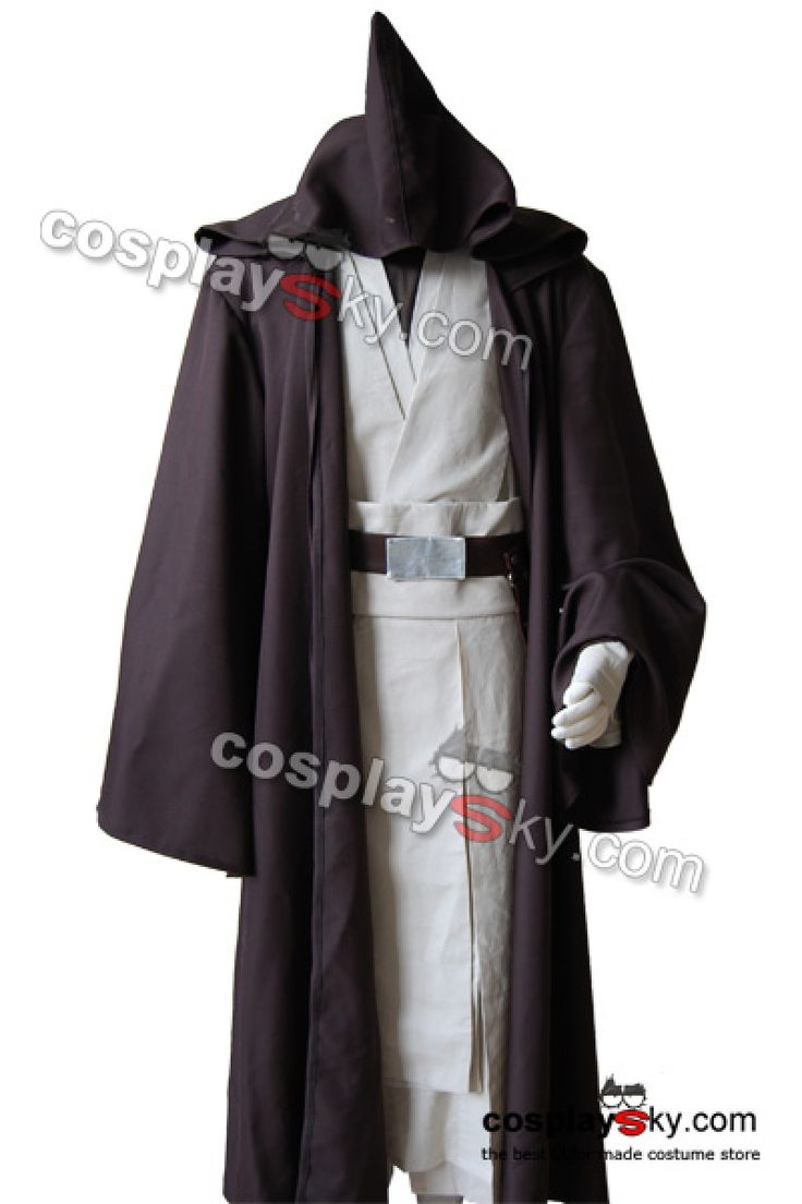 #cosplay #cosplaysky #starwars #disfraz Star Wars Old Obi Wan Kenobi tunic Costume-1