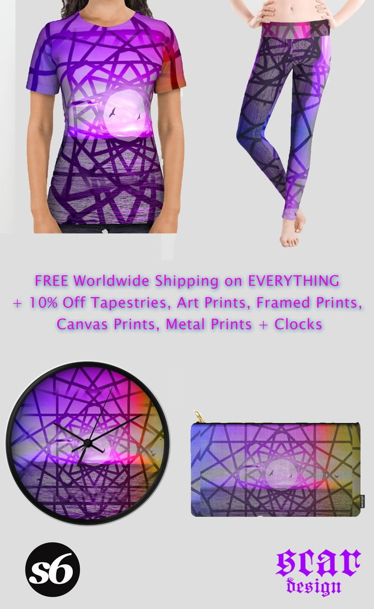 FREE Worldwide Shipping on EVERYTHING + 10% Off Tapestries, Art Prints, Framed Prints, Canvas Prints, Metal Prints + Clocks!!!!  Promotion expires August 7, 2016  Geometric Sunset  Beach Towel, T-Shirt,  Wall Tapestry Clock  and many other products!!! #freeshipping #geometric #sunset #womensfashion #sales #summer #society6 #buytshirts #geometrictshirt #summersales #gifts #summergifts #LGBT #LGBTgifts #buygifts #beachtowels #tshirts #walltapestry #wallclock #homedecor #home #homegifts