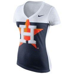 Nike Women's Houston Astros Blocked T-shirt
