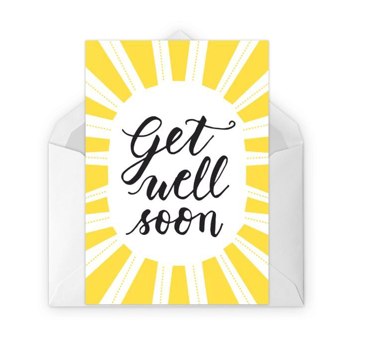 image about Printable Get Well Soon Cards identify Ship a Smile With This sort of Absolutely free, Printable Get hold of Nicely Quickly Playing cards
