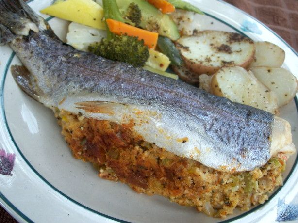 Stuffed Trout Campside Or Grilled) Recipe - Food.com