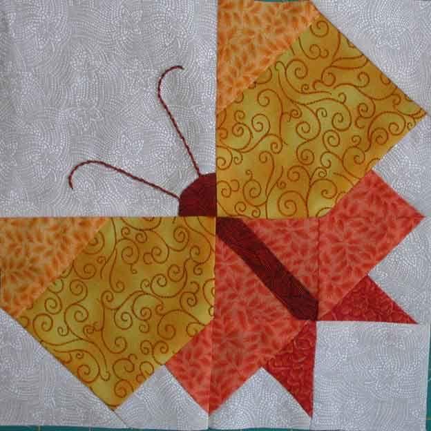 Sampler Papillon 5 Janvier Quilt Patterns Easy Quilt