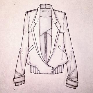 Sketching leather jackets from @arthuraleksander