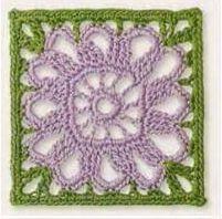 Patrón #1238: Granny a Ganchillo | CTejidas [Crochet y Dos Agujas]