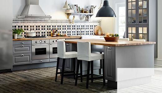 33 best idée cuisine images on Pinterest Kitchen ideas, Open - hauteur plan de travail cuisine ikea
