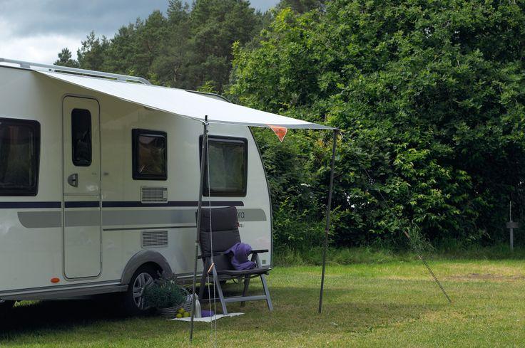 Isabella Shadow, die ideale reisluifel, compact, snel opzetbaar en lichtgewicht. Hoort bij de standaarduitrusting van iedere kampeerder. Diverse breedte leverbaar.