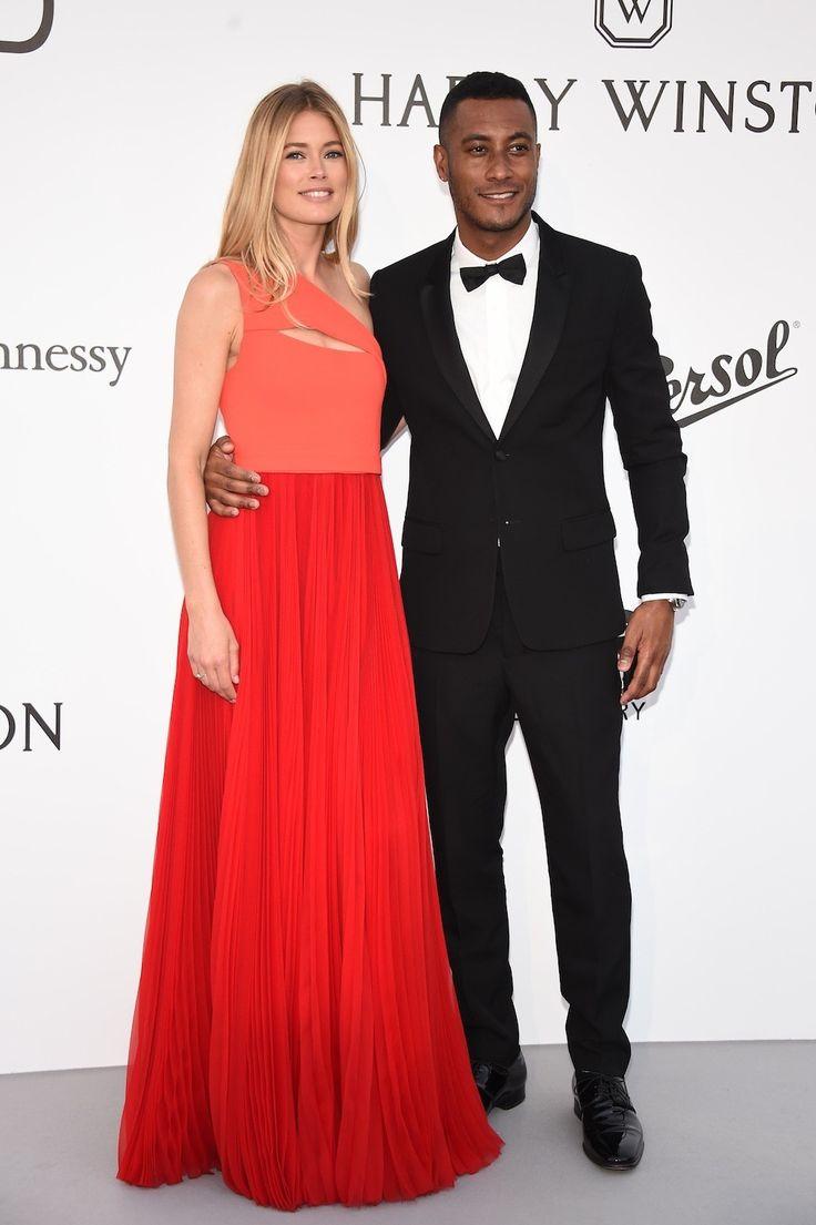Doutzen Kroes met Sunnery James - De beste rode loper looks van het amfAR Gala in Cannes
