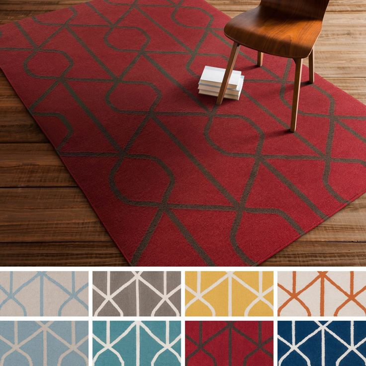 Bring luxury to your home with this contemporary area rug. Flatweave with 100-percent wool, this crosshatched designed rug will add a pop of color and the finishing touch to your décor.