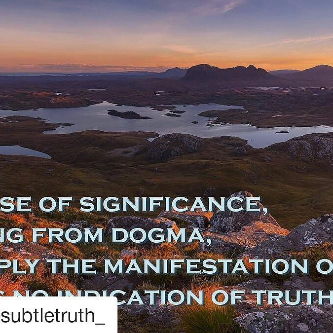#Repost @thesubtletruth_  Pride ego the illusion of significance. These are all reasons why the religious cling so stubbornly to unsubstantiated and whimsical beliefs. Question everything examine your life honestly follow the evidence. . . . . .  #mormon #faith #lds #religion #truth #significance #ego #pride #latterdaysaints #christian #catholic #muslim #islam