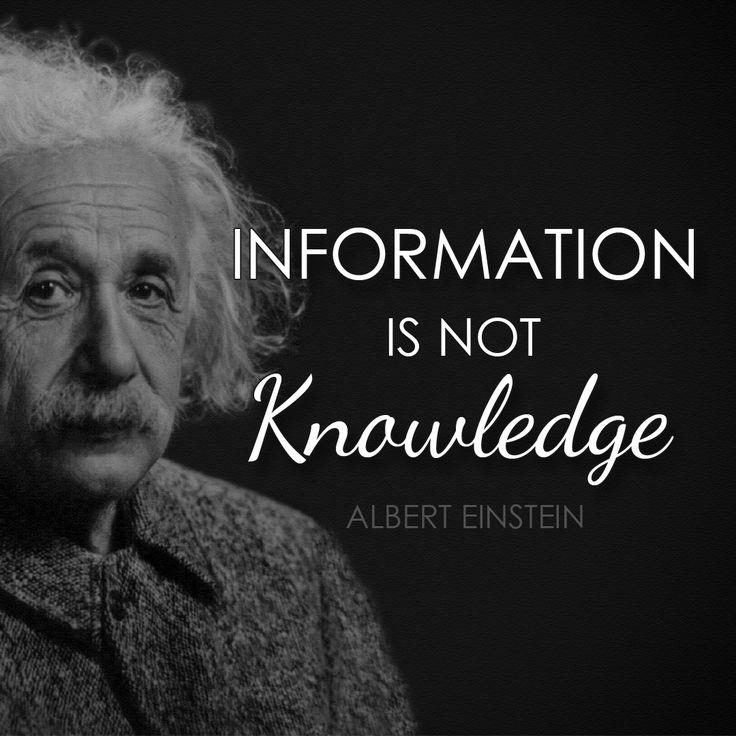 Bon Albert Einstein #quotes #alberteinstein #einstein #einsteinquotes  #information #knowledge #knowledgeispower #instagram #instaquotes Via  @tlcforcoaches