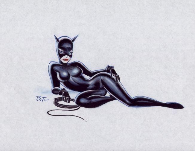 Los personajes de Bruce Timm en Batman: la serie animada