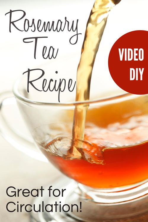 Some people feel overwhelmed by the prospect of making tea using fresh or dried herbs and rely on the old habit of just throwing a tea bag into the hot water.  Let me show you just how EASY, and I mean EASY it is to make your own teas. Rosemary tea is great for digestion, circulation and memory.