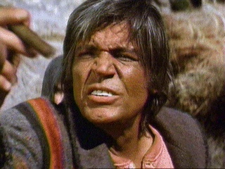 Neville Brand as Lightfoot in Cahill, U.S. Marshal, 1973