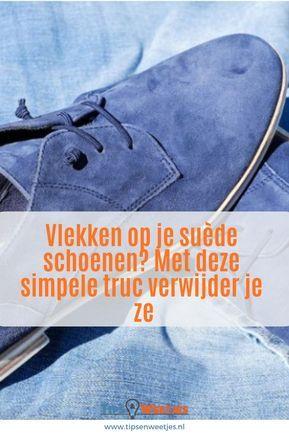 404031ad5c9 Kwetsbare suède schoenen krijg je weer als nieuw met deze simpele truc.
