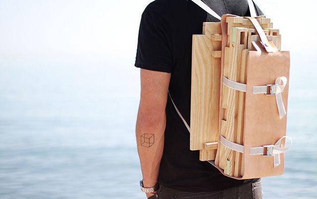 Nomadic Chair by Jorge Penadés