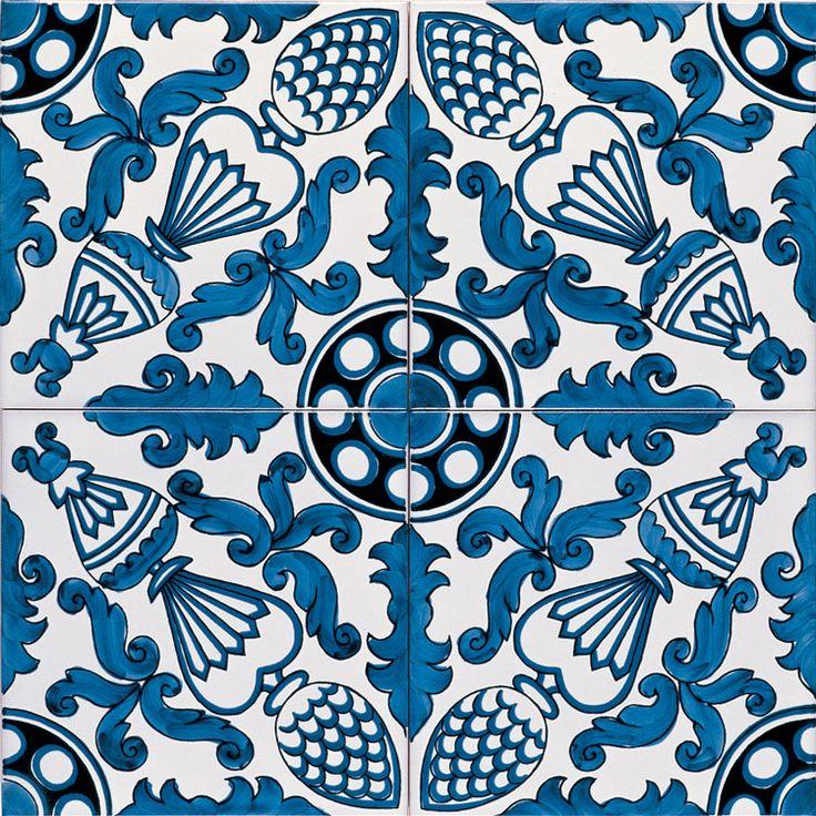 Oltre 20 migliori idee su piastrelle bianche su pinterest - Piastrelle ceramica vietri ...