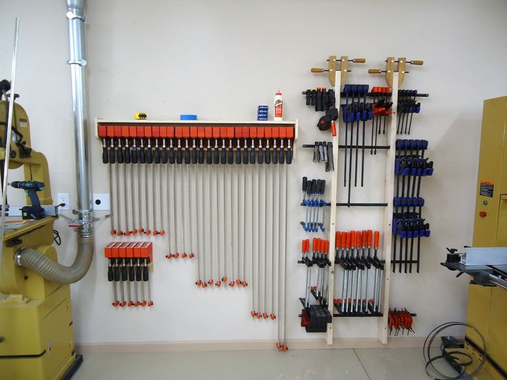 Brilliant CClamp Storage  Workshop Garage  Pinterest