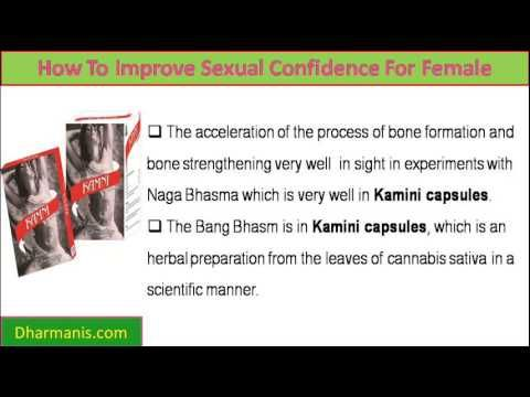 This video describes about how to improve sexual confidence for female to improve lovemaking. You can find more detail about Kamini Capsules at http://www.dharmanis.com